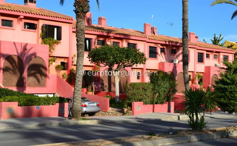Imagesby Eurotourguide Spain of Urbanisation Cabo Roig Oriheula Costa Blanca Spain