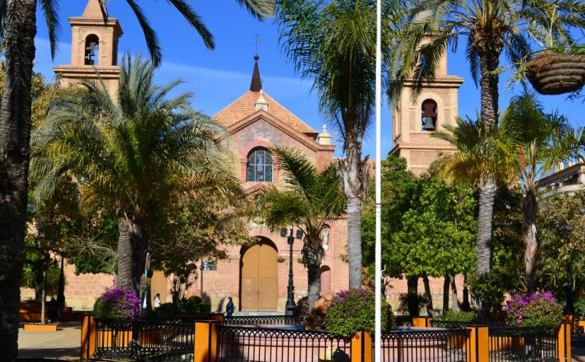 Torrevieja Church Square one of many places to visit in Torrevieja