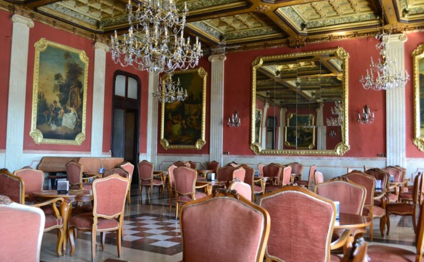Where to go in Torrevieja, a coffee in the old Casino is a must try