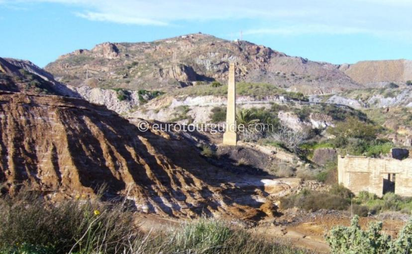 What to see in the Sierra Mineras Cartagena Spain, Photography is great the old mine shafts are great subjects