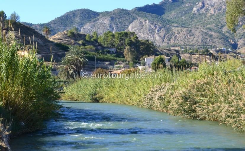 Places to visit in and around Murcia, the ricote valley has a beautiful landscape to enjoy as you drive through all the rustic villages