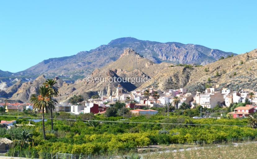 What to see in the villages of the Ricote Valley Murcia Spain