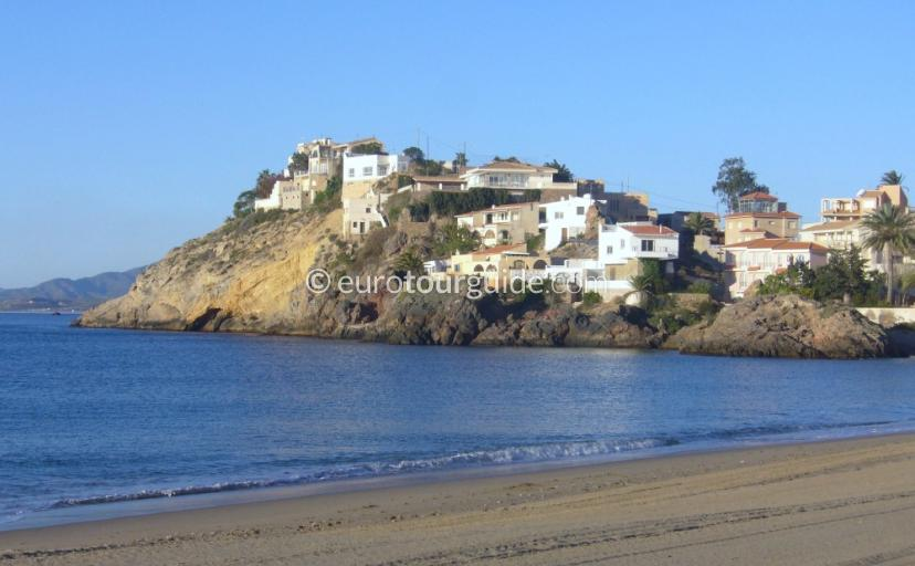 Where to go in and around Mazarron Area Murcia Spain, Bolneuvo Beach is one of many places to visit and things to do