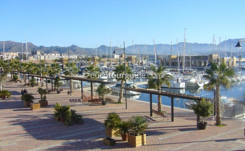 What to do in and around Mazarron Area Murcia Spain, Enjoy Coffee on the Marina and Port in Mazarron  is one of many places to visit and things to do