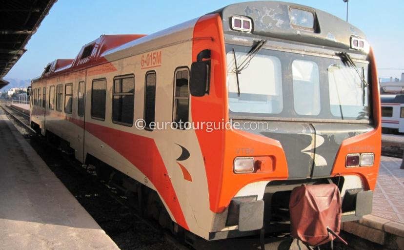 Where to go Orihuela, Take the Train to Alicante one of many things to do and places to visit by train
