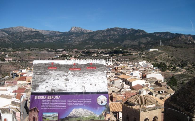 Where to go in Aledo Murcia Spain, Climb the tower in the castle and tourist office one of many things to do and places to visit