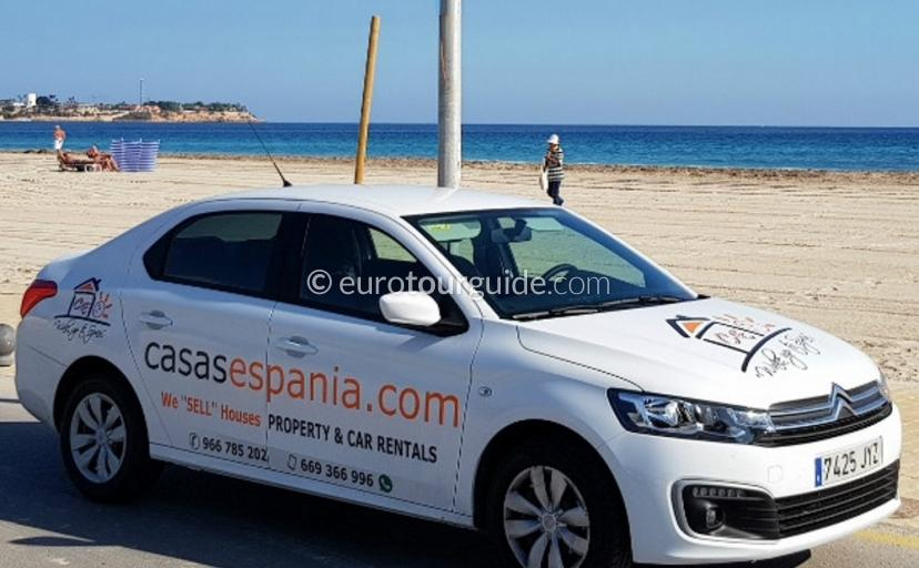 Casas Espania Car Rental
