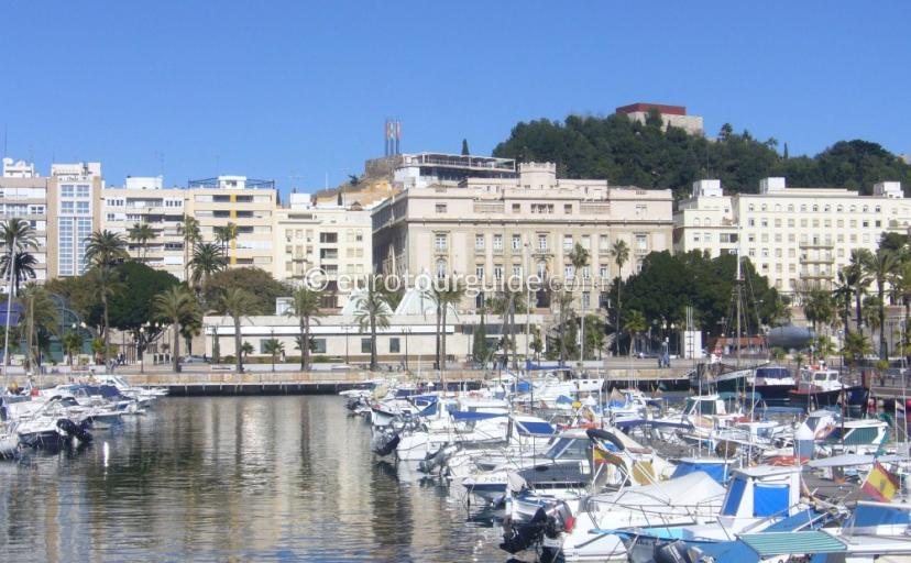 Cartagena City Marina Murcia Spain one of many things to do and places to visit