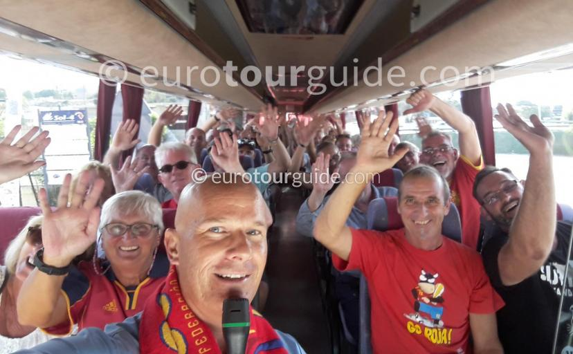 Coach Tours with www.euoroutguide.com Football Matches