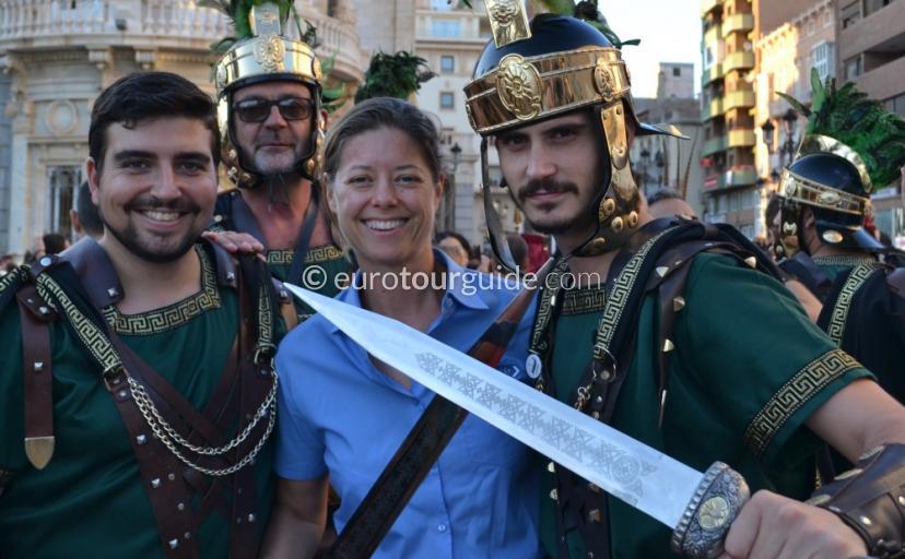 EuroTourGuide Coach Tours Cartagena Romanos y Carthagineses Parade