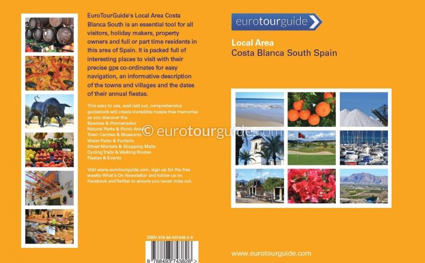 Local Area Costa Blanca South Spain Guide Book