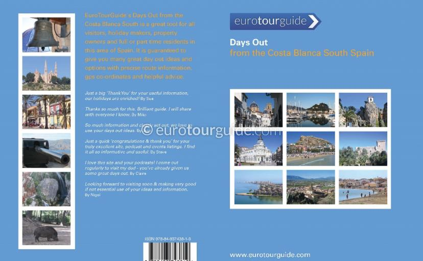Days out from the Costa Blanca South Spain Guide Book