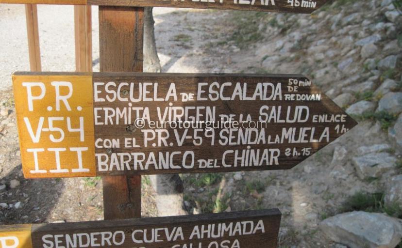 Callosa de Segura Cueva Ahumada Natural Park