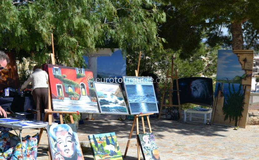 Cuevas de Rodeo Monthly Art Market is a great idea of things to do in Rojales