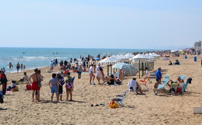 Guardamar del Segura Beach Playa