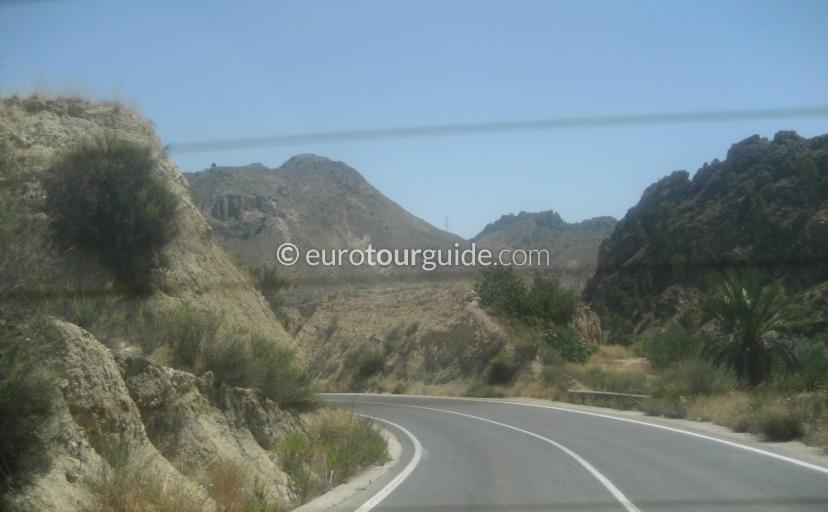 What to do in the What Ricote Valley Inland Murcia Spain,Enjoy a scenic drive through the villages one of many interesting things to do and places of interes