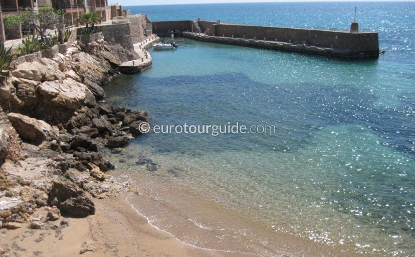 Things to do in and around Mazarron Area Murcia Spain, Scenic drive around Isla Planais one of many places to visit and things to do
