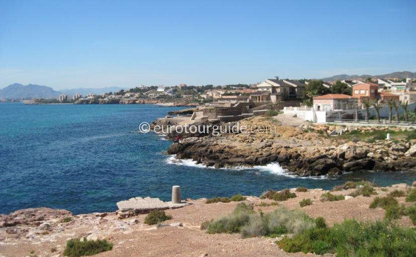 Things to do in and around Mazarron Area Murcia Spain, Have a picinc by the coastis one of many places to visit and things to do