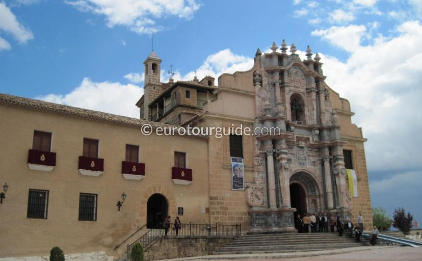 Things to do in Caravaca de la Cruz Inland Murcia Spain,sanctuary of the Vera Cruz is one of many things to do and places to visi