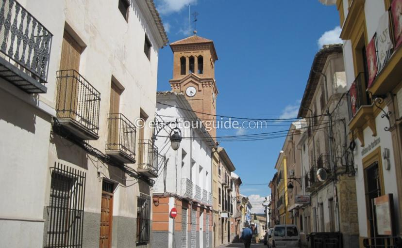 Where to go in Calaspara Inland Murcia Spain, Walking around this traditional town is one of many things to do and places to visi