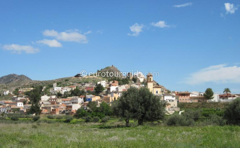Things to do in Calaspara Inland Murcia Spain, Painting a landscape picture is one of many things to do and places to visi