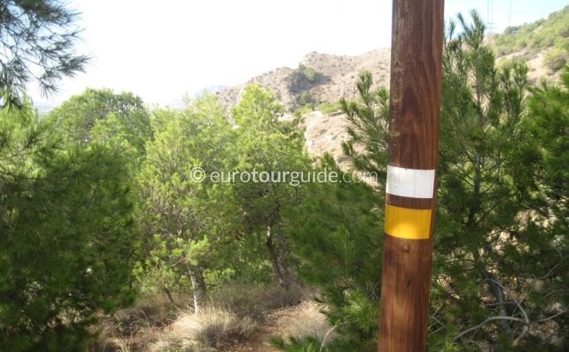Callosa de Segura Walking Hiking Route