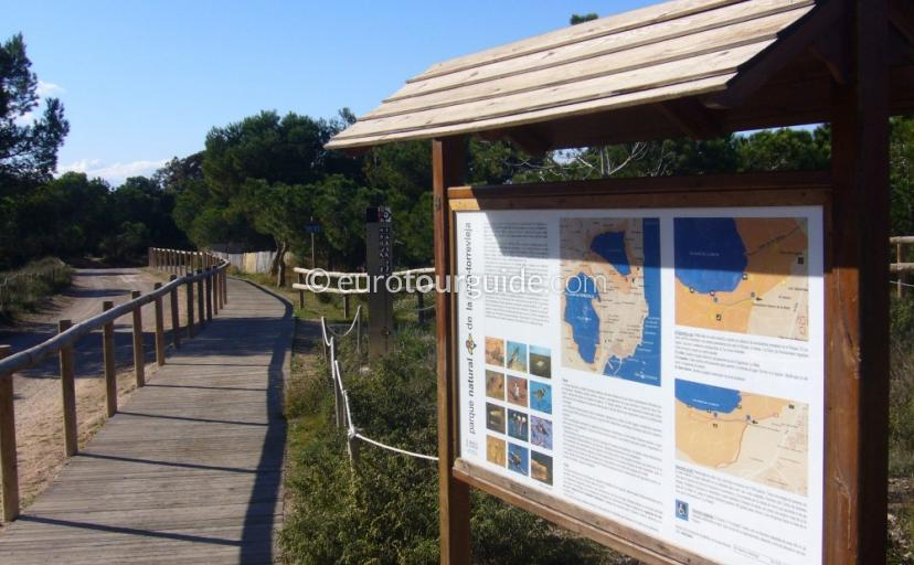 La Mata Natural Park Walking and Cycling Routes