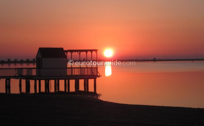 What to do in Lo Pagan Mar Menor Costa Calida Murcia Spain, Early Morning jog is one of many things to do and places to visit here.