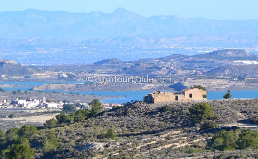Views of the Pedrera Reservoir