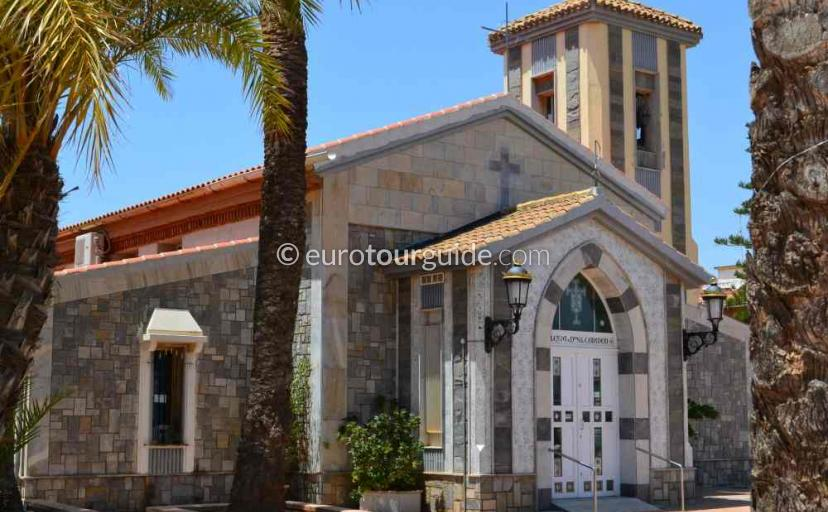 What's on in Los Urrutias Mar Menor Costa Calida Murcia Spain,attending church service is one of many things to do and places to visit here.
