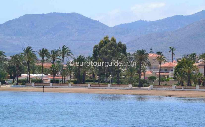 Tourist information in  Los Urrutias Mar Menor Costa Calida Murcia Spain, Walking along the promendades one of many things to do and places to visit here.