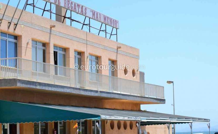 Places to visit in Los Urrutias Mar Menor Costa Calida Murcia Spain, lunch at the marina is one of many things to do.