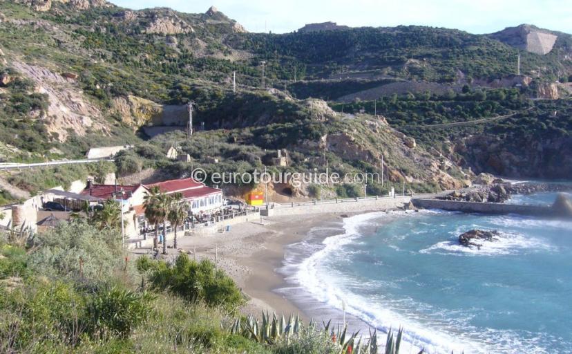 Where to go in Cartagena City, Mars Bravas Restaurant offers Great views