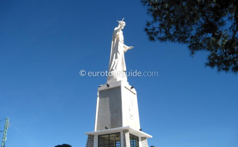 Places to visit in Sierra Espuna Regional Park Murcia Spain, Visit the Mirador del Cristo one of many things to do and places to visit