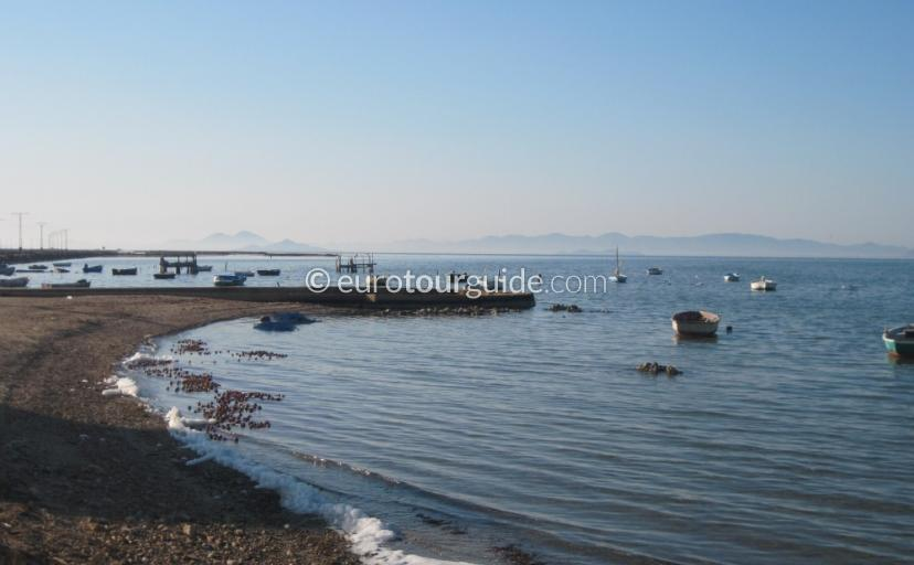 Where to go in and around the Mar Menor Murcia Spain, Beaches around the La Manga Strip is one of many things to do and places to visi