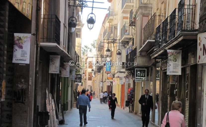 Orihuela boutique shops