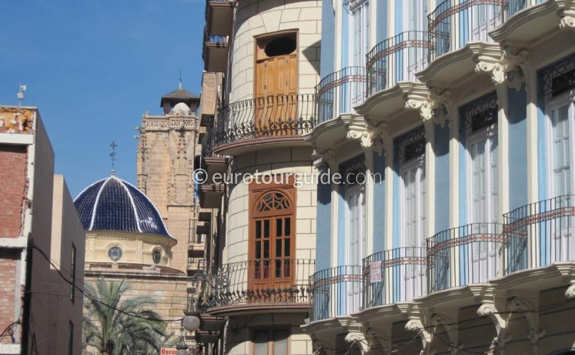 Orihuela packed with great buildings