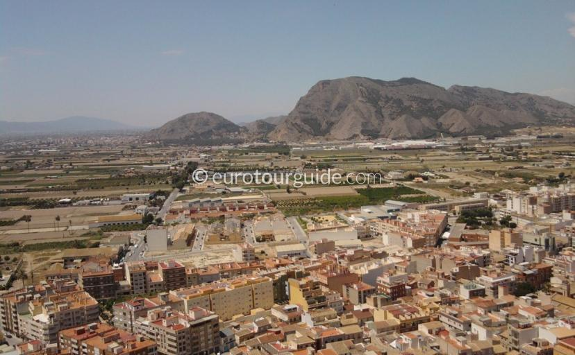 Redovan stunning views towards Orihuela from the Senora de la Salud natrual park