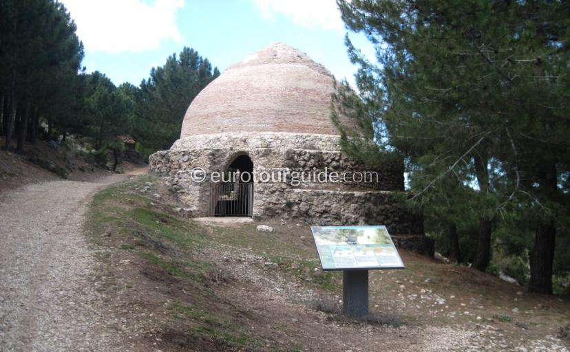 What to see in Sierra Espuna Regional Park Murcia Spain, Ice Houses one of many things to do and places to visit