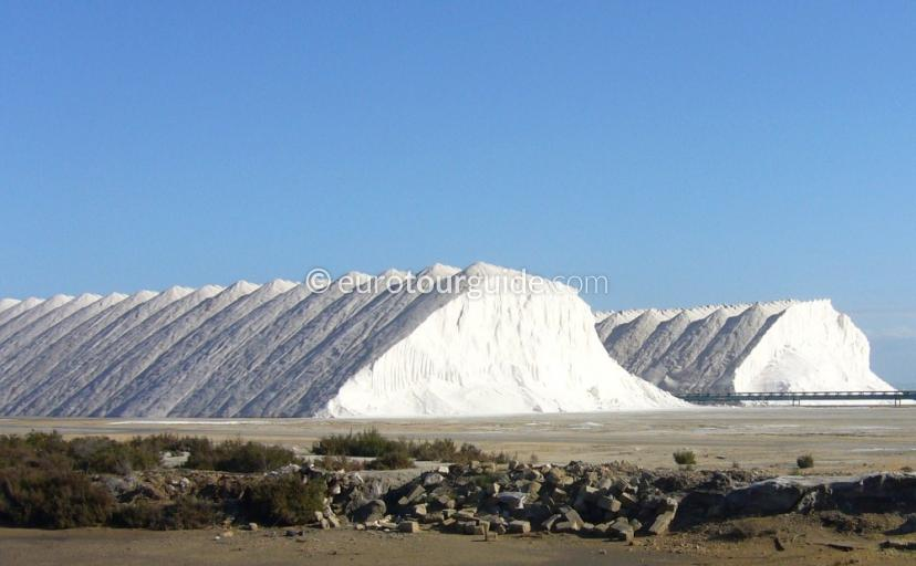 Santa Pola Salt Piles