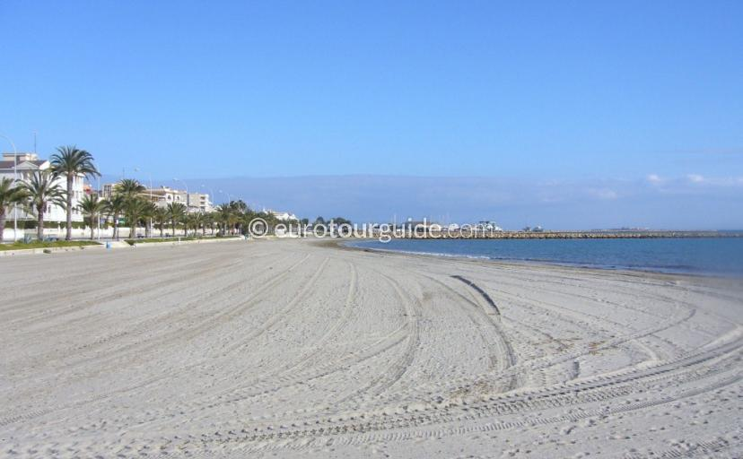 Santa Pola Beaches: Gran Playa, Playa de Levante
