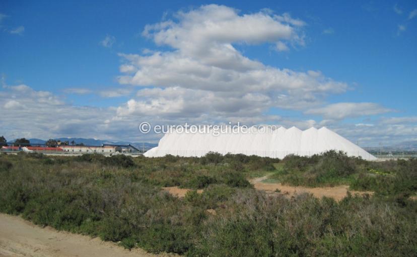 Santa Pola Salt Industry