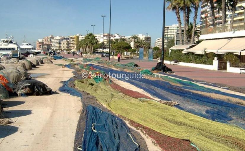 Santa Pola Fishing Port and Fsh Market