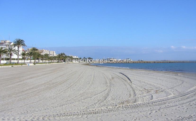 Santa Pola Beaches: Gran Playa, Playa de Levante
