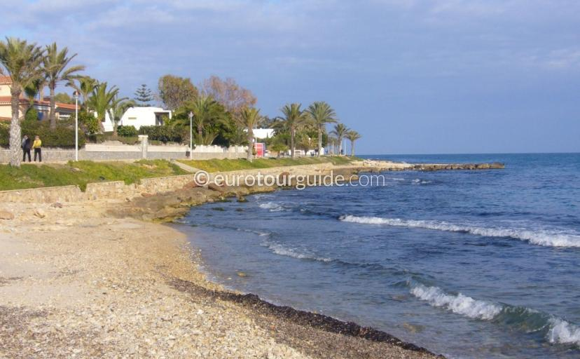 Santa Pola Scenic Drive to Gran Alacant
