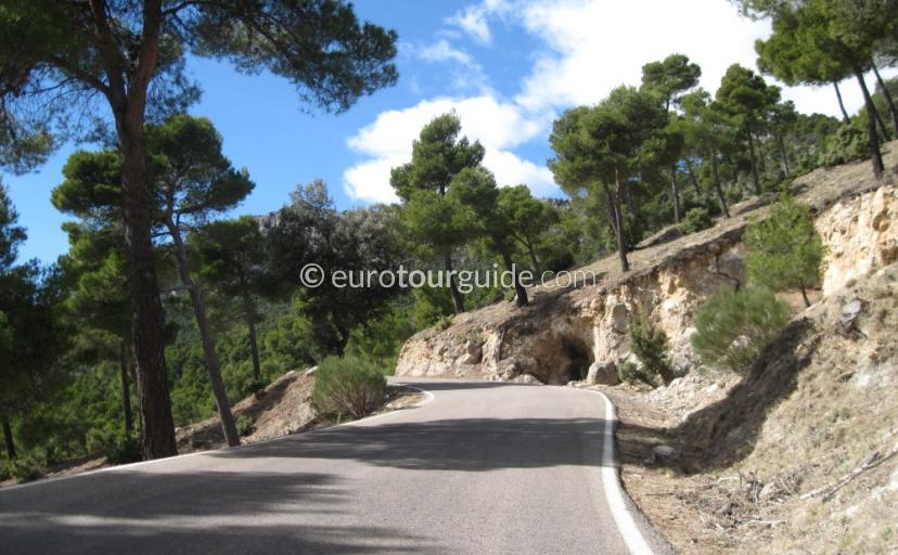 Where to go in Sierra Espuna Regional Park Murcia Spain, Following our driving route is one of many things to do and places to visit