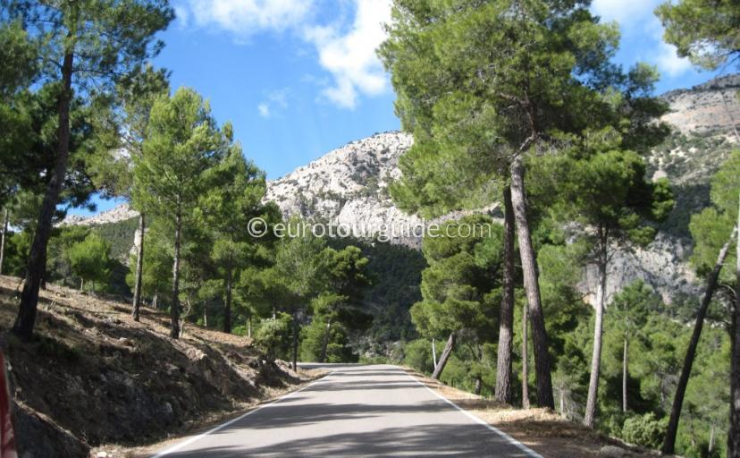 Walking and Cycling in Sierra Espuna Regional Park Murcia Spain, There are many marked trails to enjoy one of many things to do and places to visit