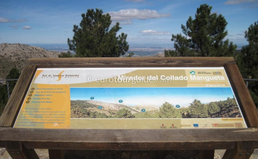 Things to do in Sierra Espuna Regional Park Murcia Spain, learn about the parks flora and fauna one of many things to do and places to visit