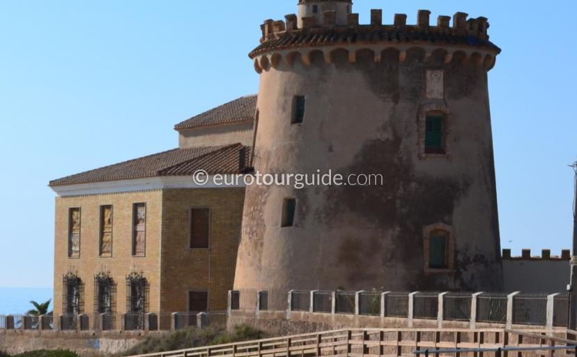Torre de la Horadada iconic watch tower