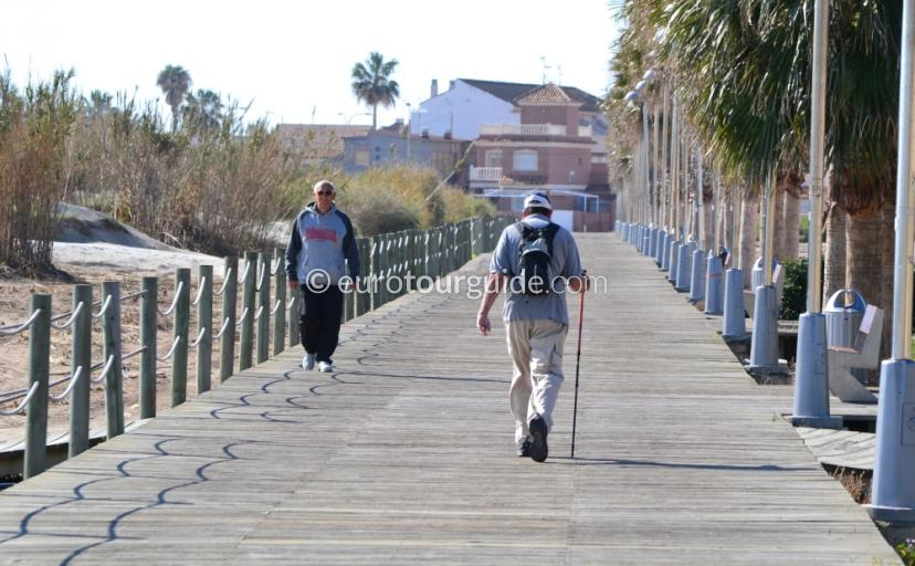 Torre Horadada Coastal Walking Route to Mil Palmeras and El Mojon